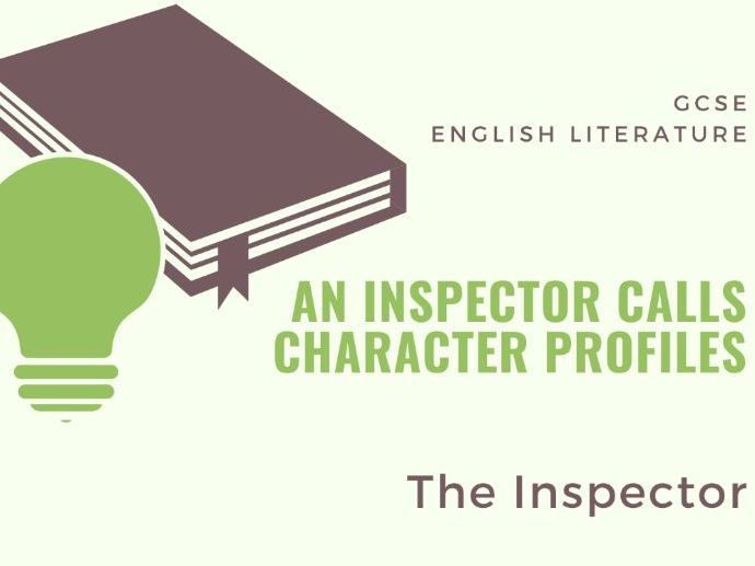 An Inspector Calls - The Inspector - Character Profile