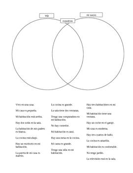 Casa (House in Spanish) Friendship circle