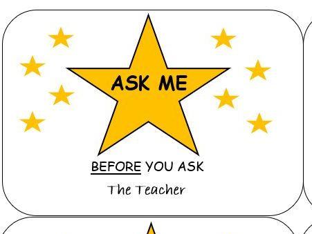Ask Me Lanyards