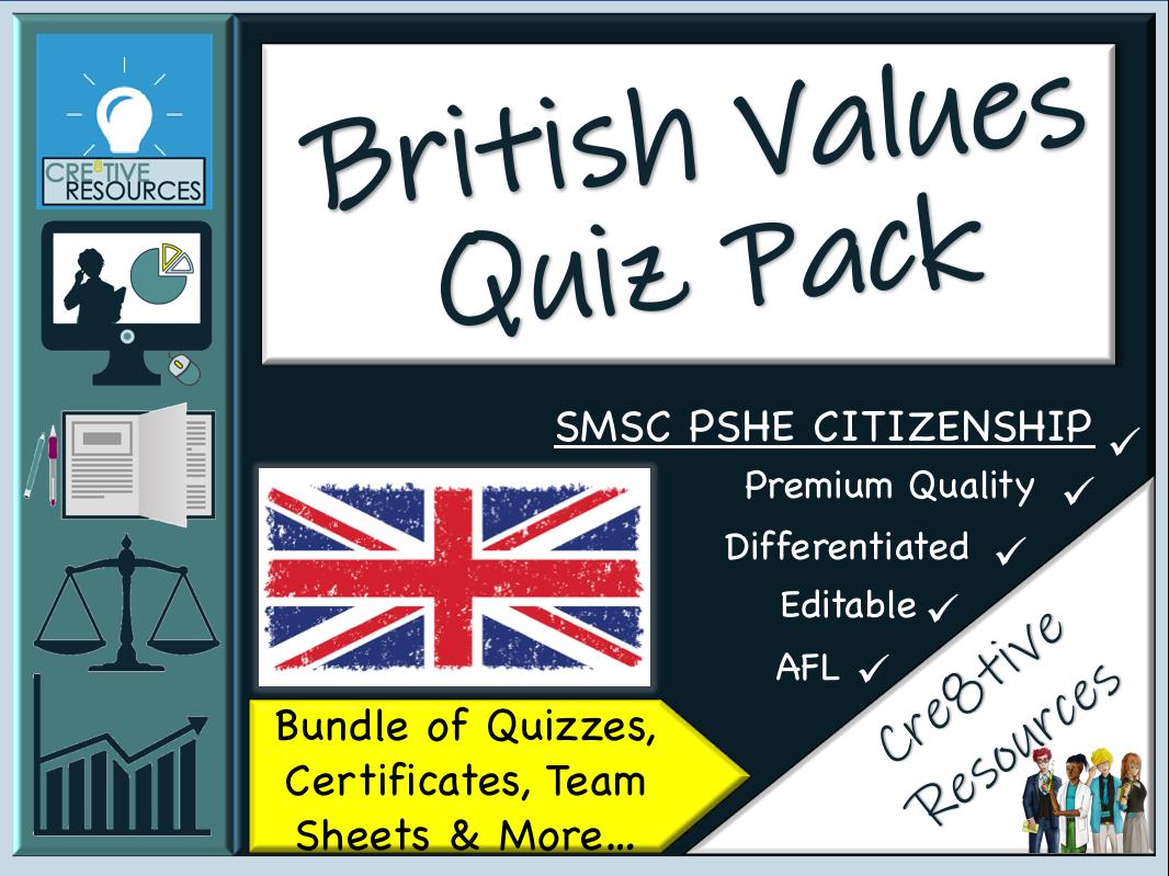 British Values Quiz Pack