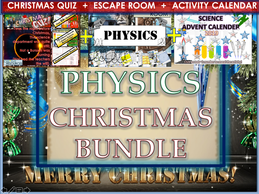 Physics - Science Christmas Activities