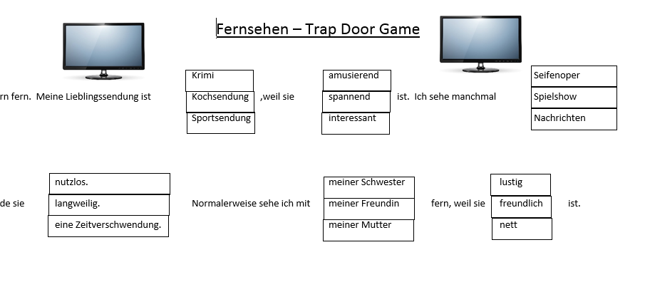 5 Trap Door Games
