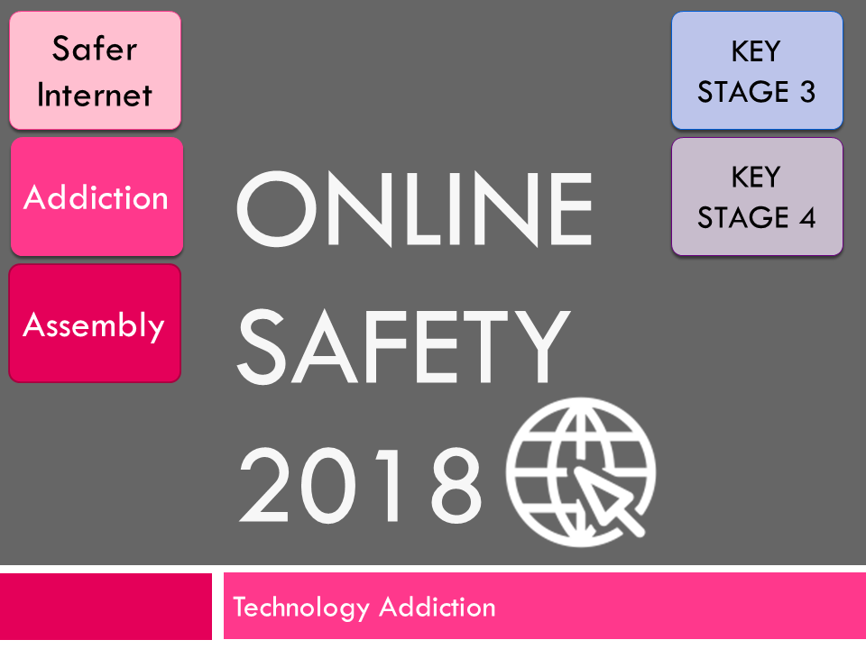 Online Safety : Internet Addiction 2018 (E-Safety Assembly)