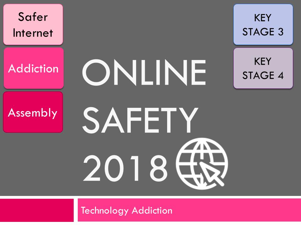Online Safety : Internet Addiction 2018 (E-Safety Assembly)