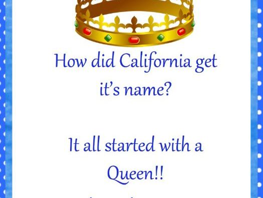 How the state of California got its name