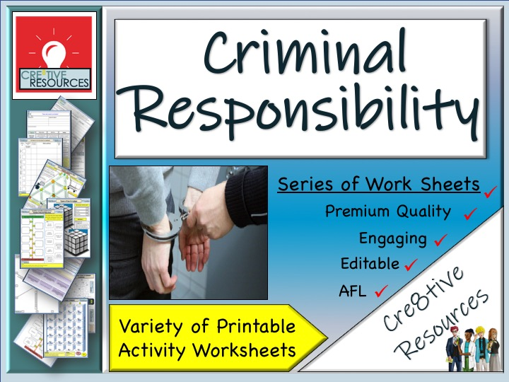 Criminal Responsibility - Home learning