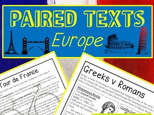 Text Comparisons - EUROPE - Literal, Inference, Meaning and Summary questions