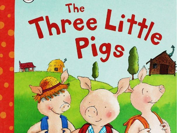The Three Little Pigs - Writing in Sentences