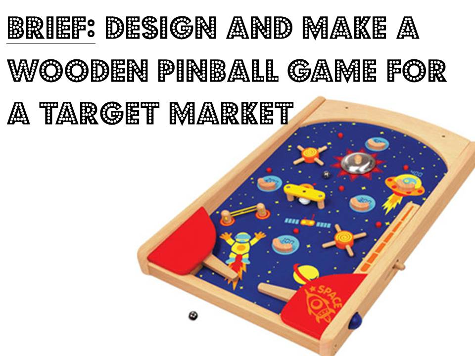 Wooden Pinball Game Project