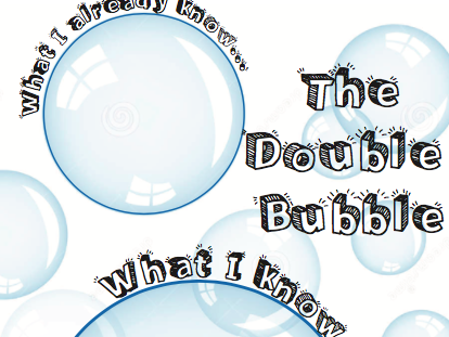 Double Bubble Starter Task or Plenary