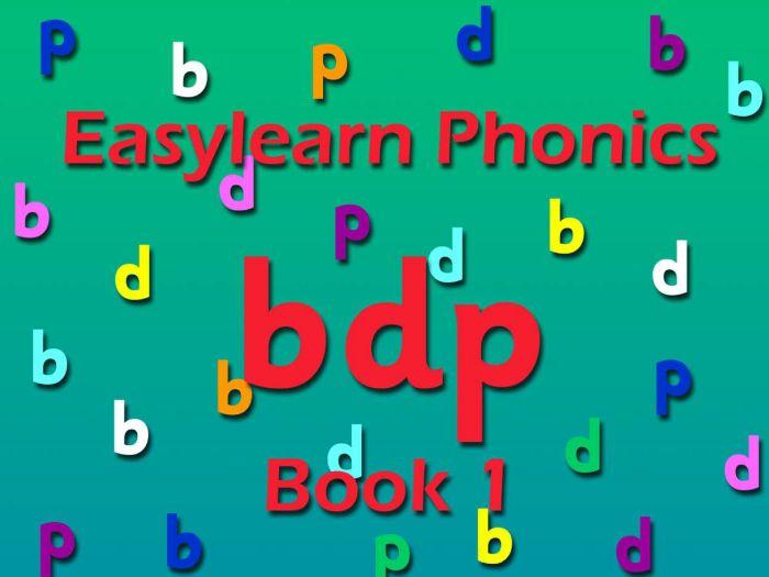 PHONICS: b/d/p book 1