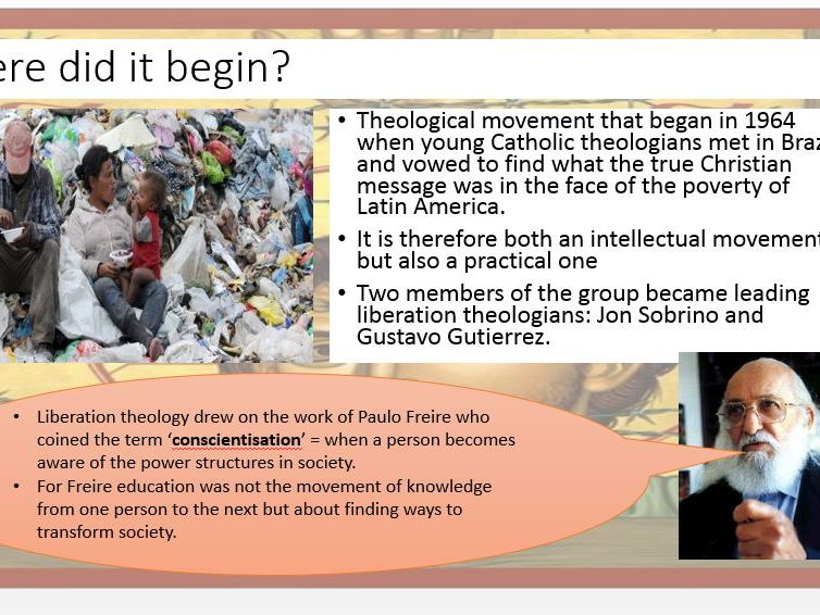 Liberation Theology and Marx Power Point: New Spec OCR A2