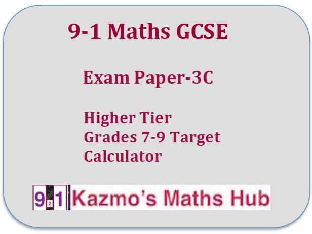 9-1 Maths Exam Paper