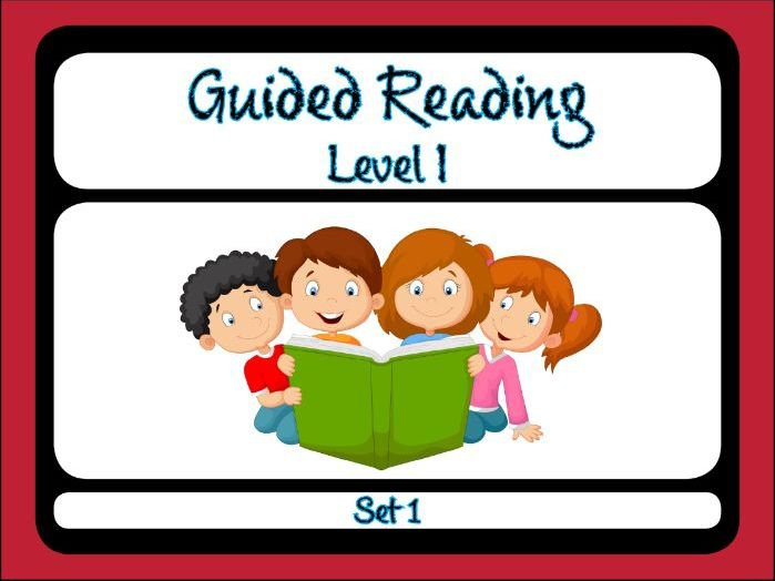 Guided Reading Level I Set 1