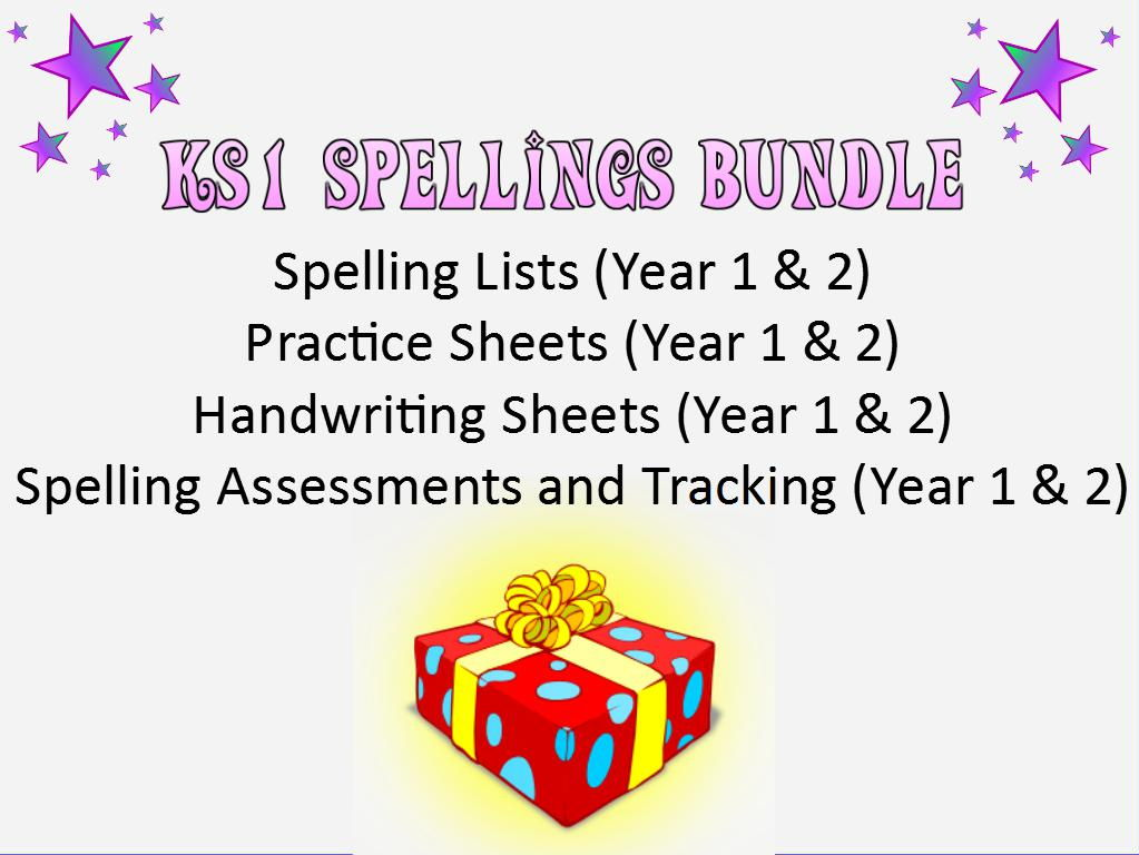 KS1: Spellings Bundle