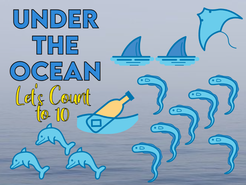Under the Ocean Let's Count to 10 EYFS