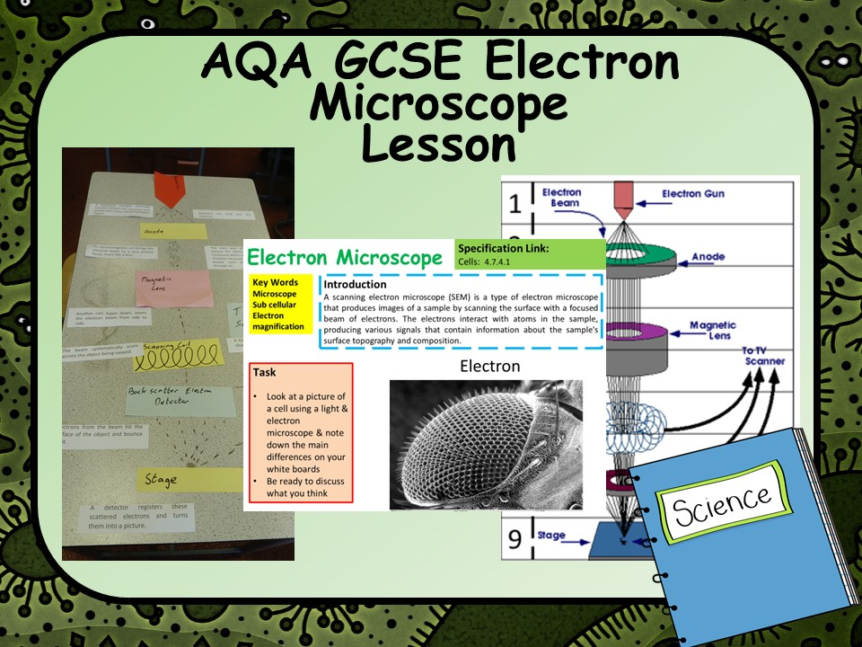 New GCSE Biology (Science) Electron Microscope Lesson