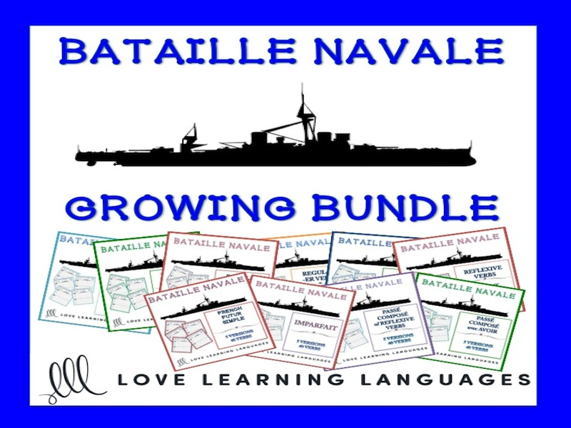 French Bataille Navale Games - Growing Bundle French Battleship Games