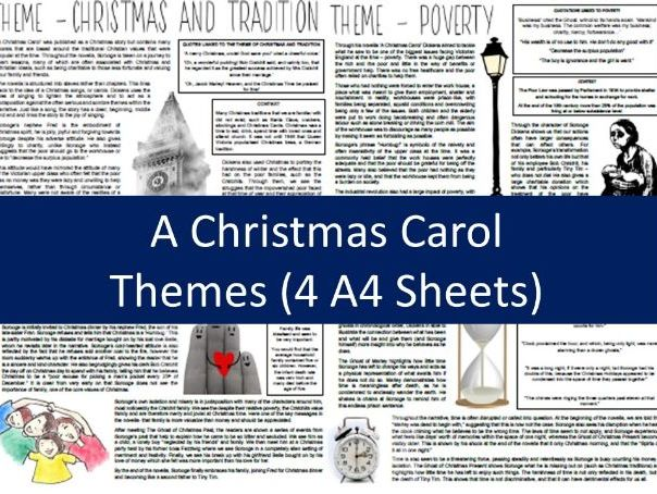 A Christmas Carol Themes - Full Sheets