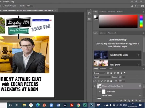 Make a poster for a Radio Station - NEA Media Studies - Brief 3 - Tutorial 2 - Getting Images - AQA
