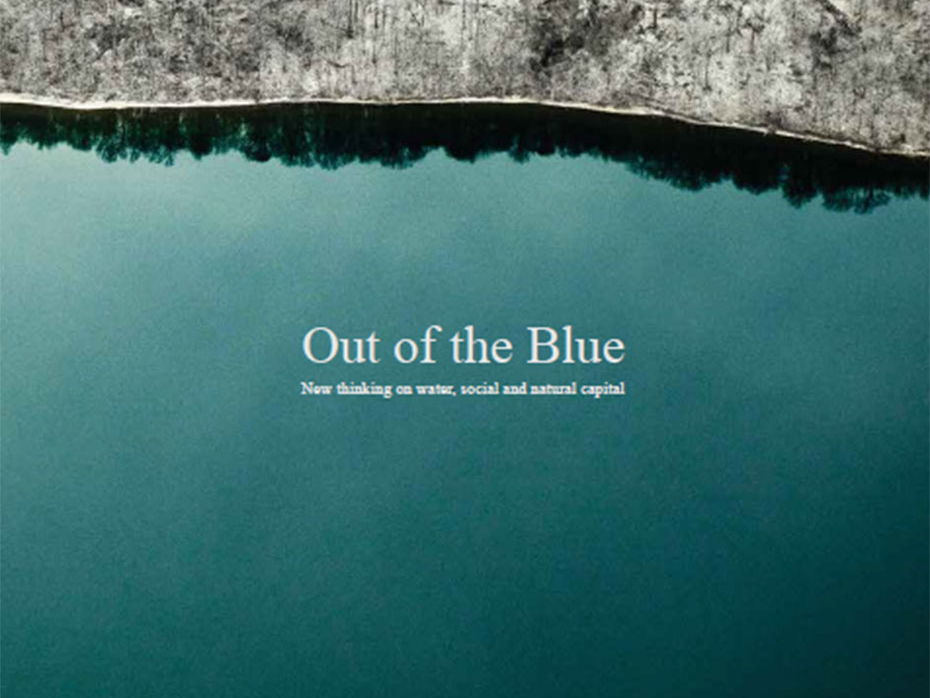 Out of the Blue - Simon Armitage - Poem Unseen Conflict