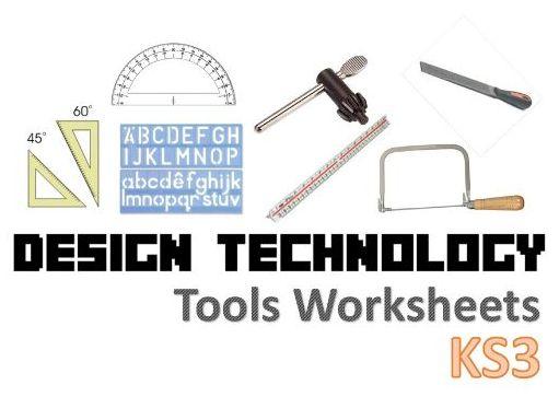 KS3 Design Technology Tools Worksheets