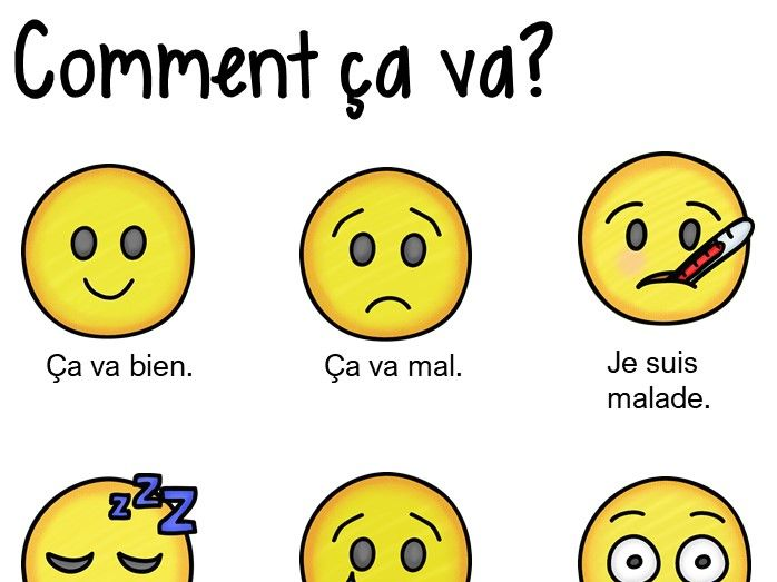 French Bundle: Saying how you feel