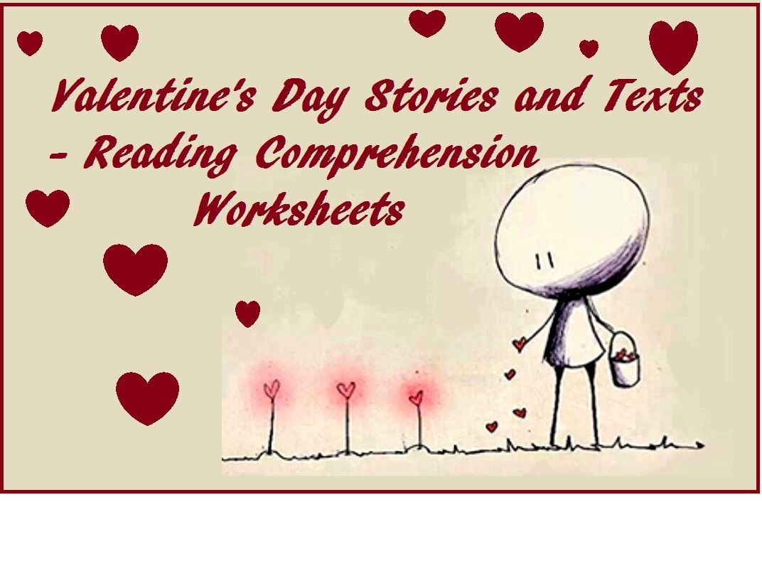 Valentine's Day Bundle x 7 Reading Comprehension Worksheets (60% OFF)