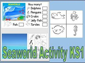Sea World Activity KS1