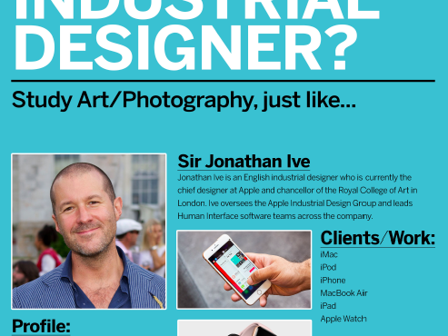 Art Design Photography School Promo Posters