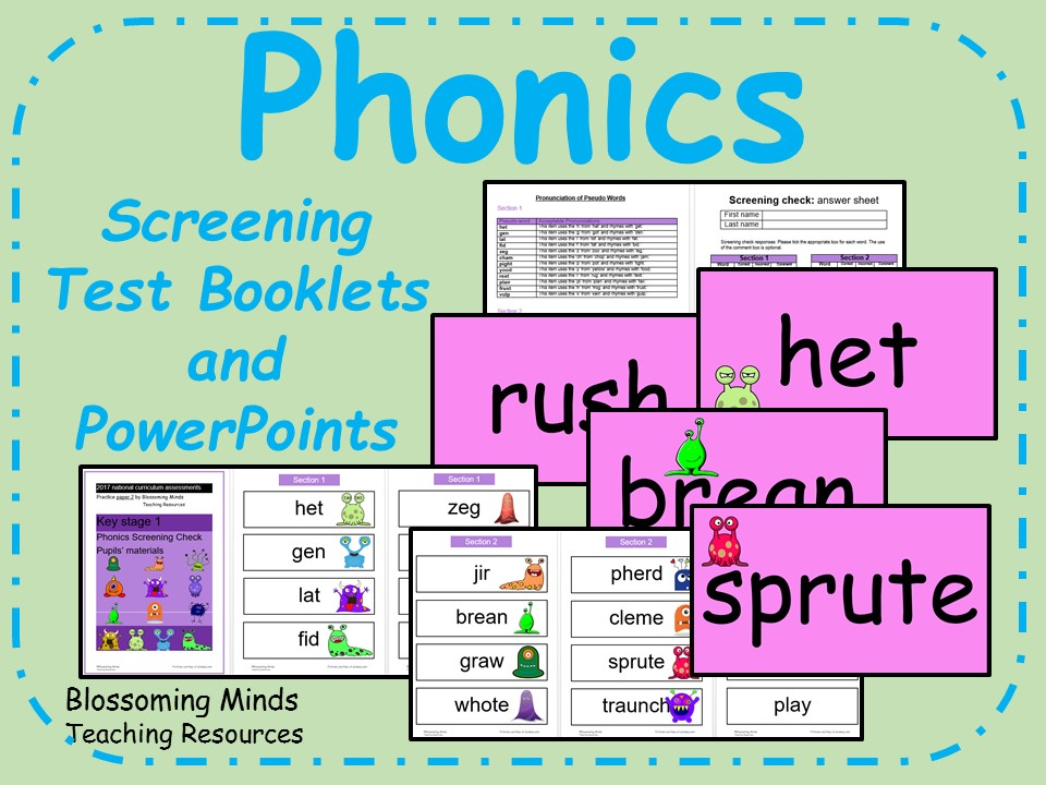 Phonics screening check | TES
