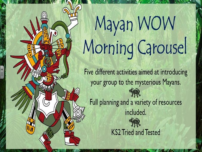 Mayan Wow Morning Carousel
