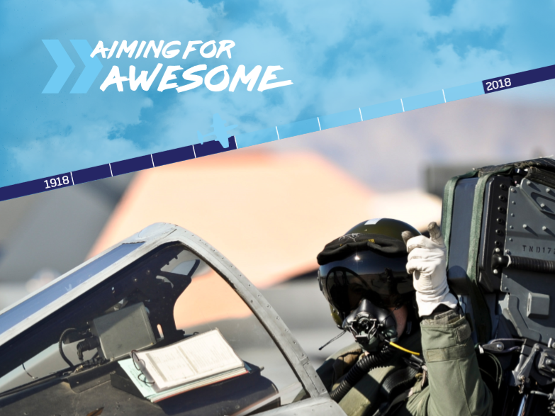 RAF 100:  Aiming for awesome - STEM resource