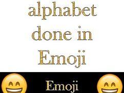 Emoji Letters