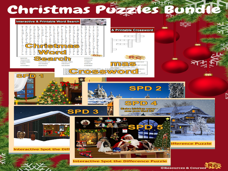 Christmas Puzzles Collection