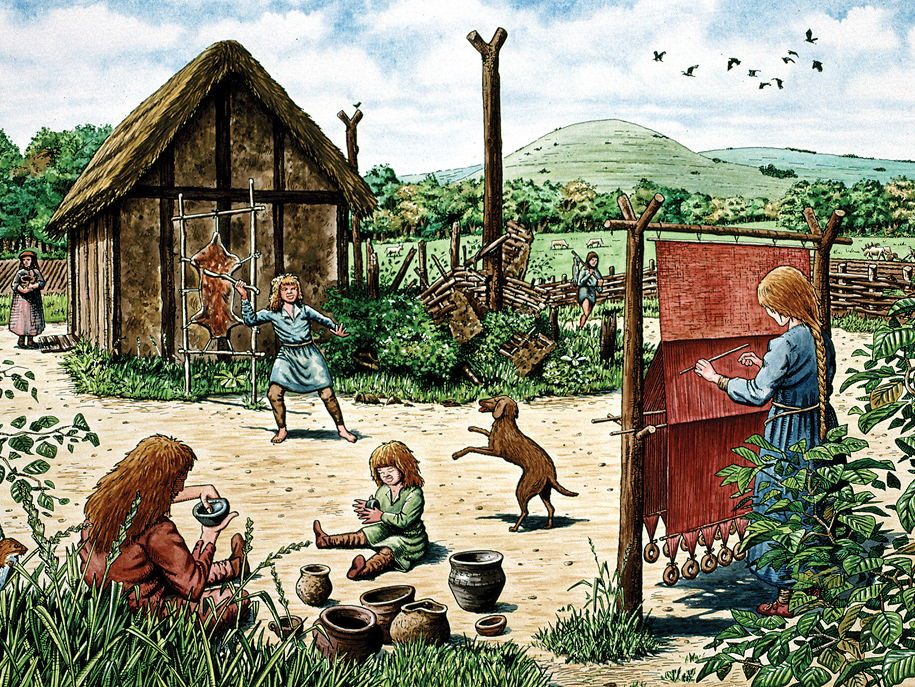 Life in England before 1066