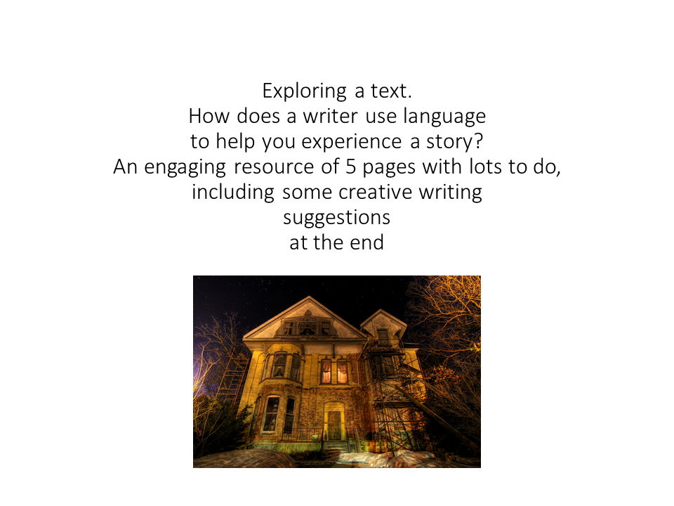 Analysing language in a short text