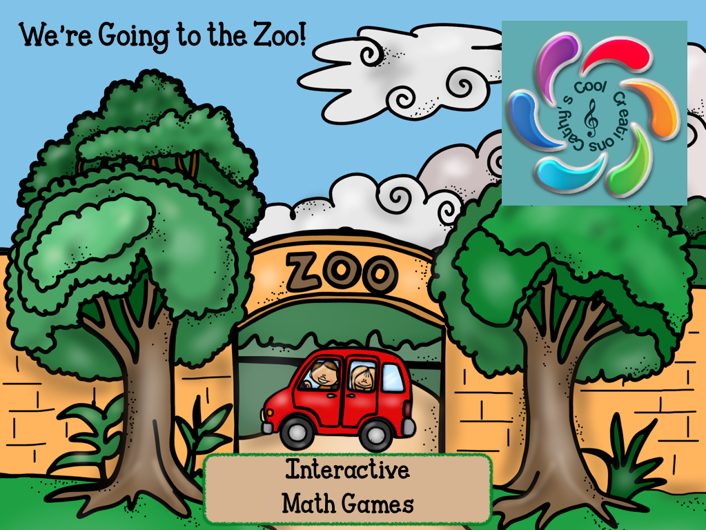 We're Going to the Zoo! Interactive Math Games