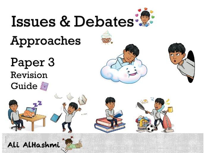 Issues & Debates Approaches - Edexcel A Level Psychology