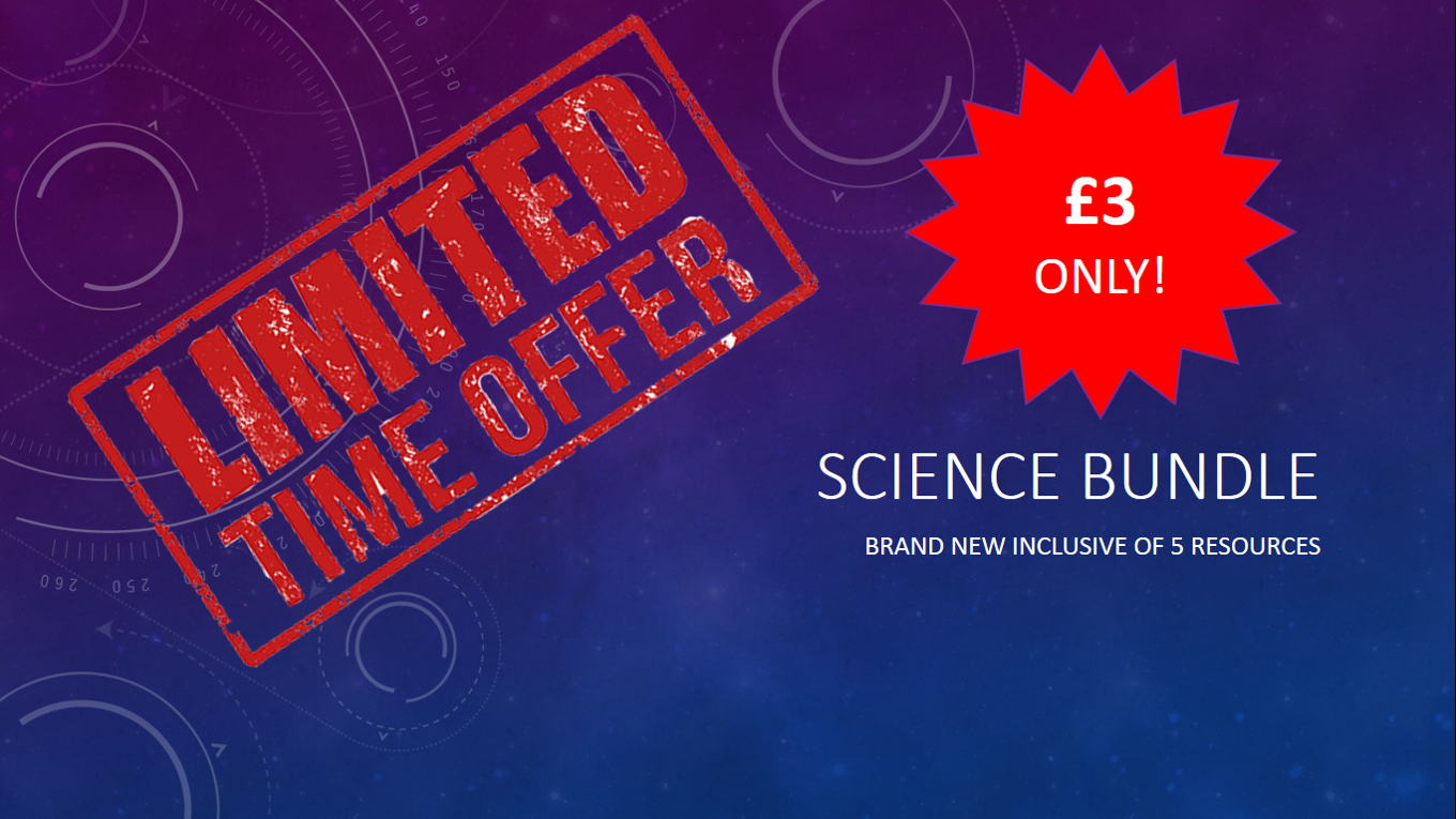 New Science Bundle LIMITED TIME ONLY