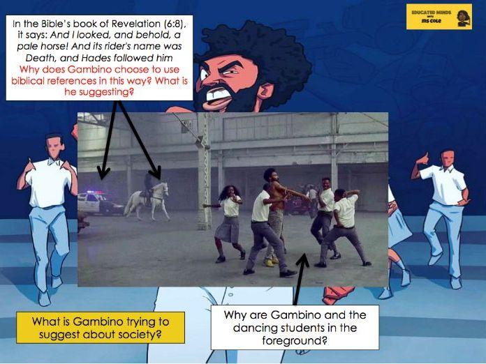 English Language Practice: Childish Gambino 'This is America'