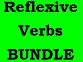 Verbes réfléchis (French Reflexive verbs) Present tense Bundle