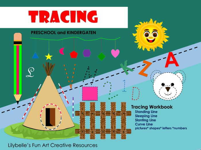 Tracing - Early Learning Skill