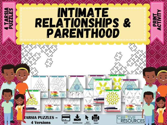 Intimate Relationships and Parenthood  Puzzles