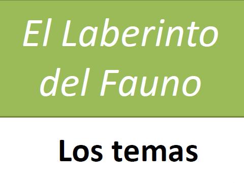 Theme Workbook - El Laberinto del Fauno - A Level Spanish Film