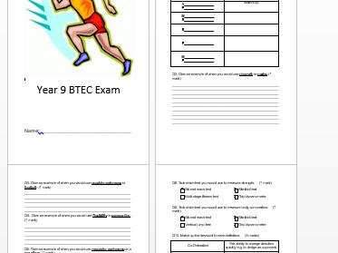 BTEC Unit 1 Practice Exam