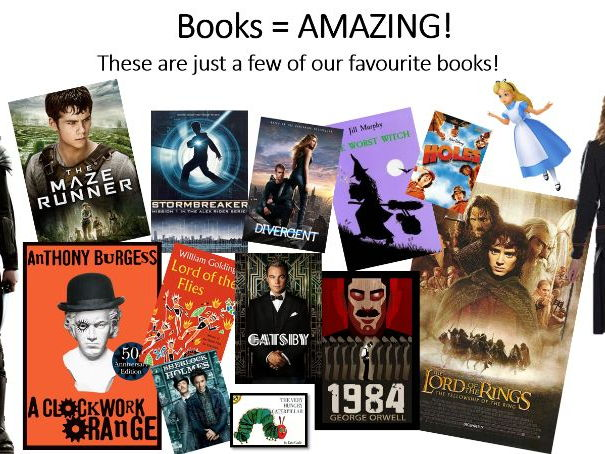 15min Assembly - Why Reading is Important. Great for World Book Day (1st March 2018)