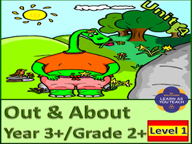PRIMARY SPANISH UNIT - OUT & ABOUT ( Premium version)