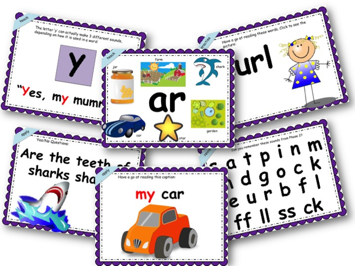Phonics Powerpoint, Phase 3, Week 5 (ar,or,er,ur)