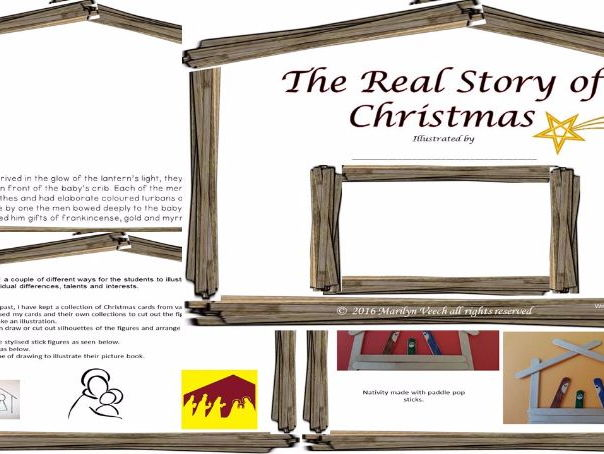 The Christmas Story to Illustrate.